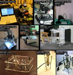 Penelitian dan pengembangan Mikroskop Webcam di Lab Mikrobiologi Pertanian, UGM dan Lifepatch.org (2010-2013)